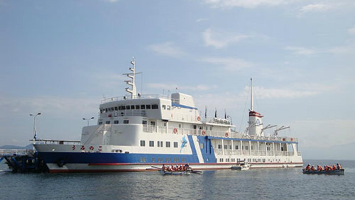 学習船「うみのこ」 http://www.pref.shiga.lg.jp/kokoro/area_otsu/details/a0091_details.html