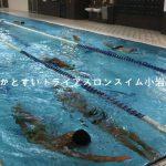 トライアスロンのスイムが速くなる練習メニュー【中級者向け】