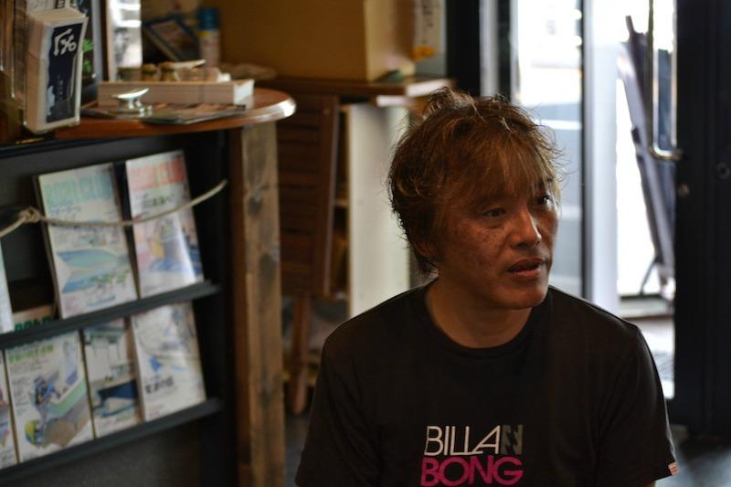 お話を伺った山田さん。夏はほぼ毎週、少し離れたご自宅から勝どきマリーナにいらしているそうです。