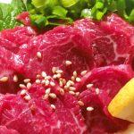 熊本の美食!桜色がそそる「馬肉(桜肉)」でヘモグロビンチャージ!