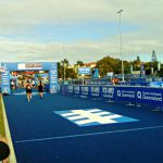 The ITU World Triathlon Series on the Gold Coast を観戦