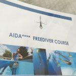 フリーダイビング のスキルアップために『AIDA4』を受講しました